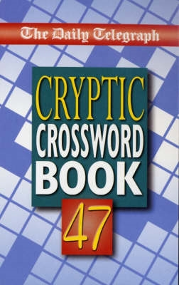 Book cover for Daily Telegraph Book of Cryptic...